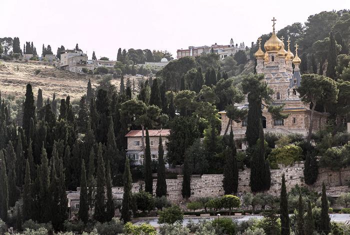 Jerusalem Kidrontal: Maria-Magdalena-Kirche Ölberg