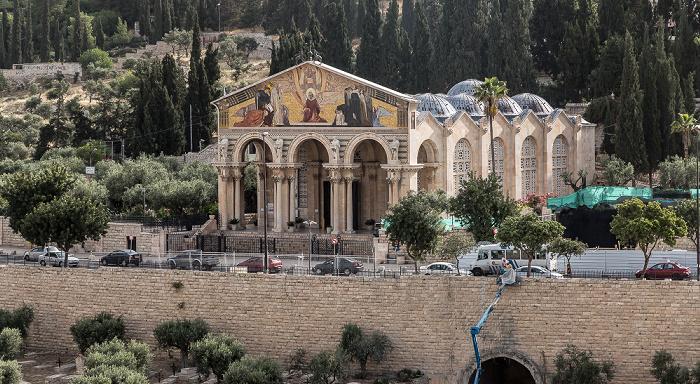 Jerusalem Kidrontal: Kirche aller Nationen (Todesangstbasilika, Basilica Agoniae Domini)
