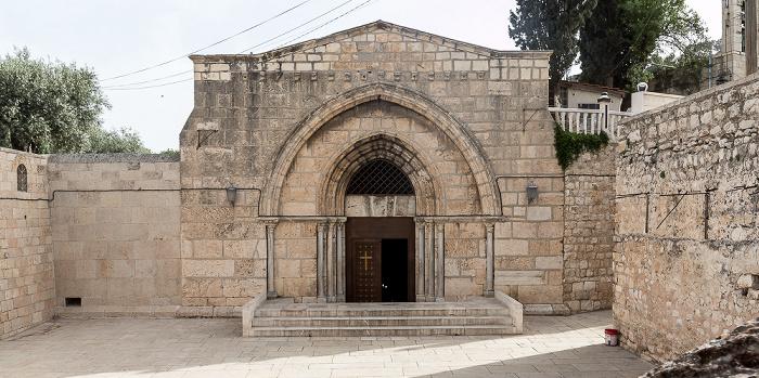 Jerusalem Kidrontal: Mariengrab