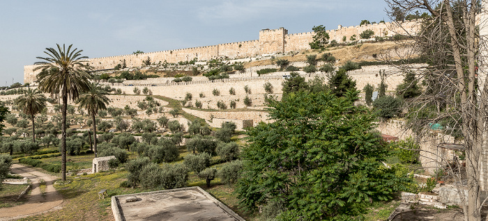 Kidrontal, Tempelberg  Jerusalem