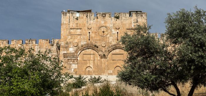 Tempelberg (Altstadt): Goldenes Tor Jerusalem