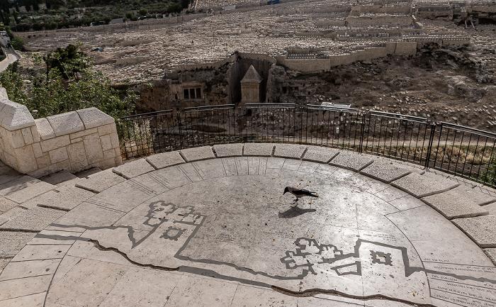 Jerusalem Derech HaOfel Jüdischer Friedhof Kidrontal