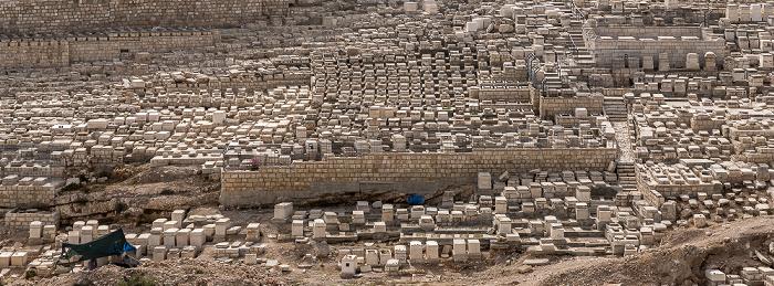 Kidrontal: Jüdischer Friedhof Jerusalem