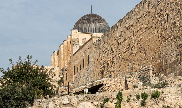 Jerusalem Tempelberg: Al-Aqsa-Moschee