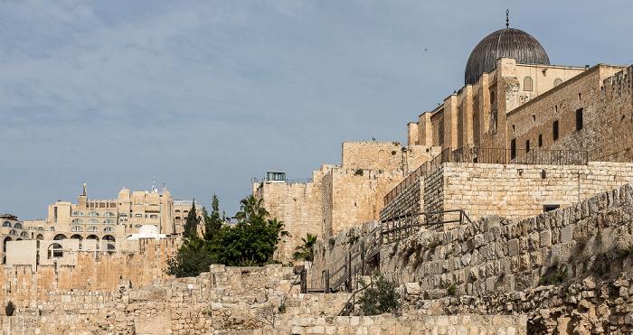 Jerusalem Tempelberg: Al-Aqsa-Moschee Altstadt