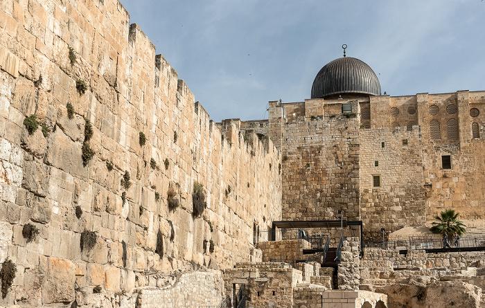 Jerusalem Tempelberg mit Al-Aqsa-Moschee