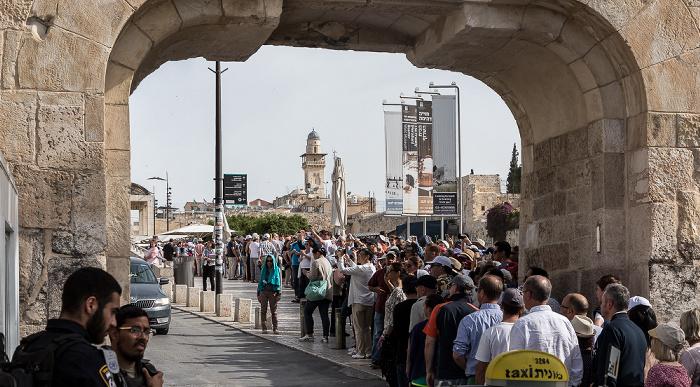 Altstadt: Dungtor (Misttor) Jerusalem