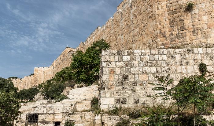 Beit Shalom Garden, Altstadtmauer Jerusalem