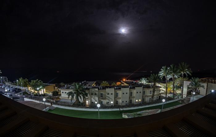 En Gedi Blick aus dem Ein Gedi Hostel: Totes Meer