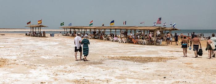 En Gedi Ein Gedi Sea Of Spa: Strand am Toten Meer