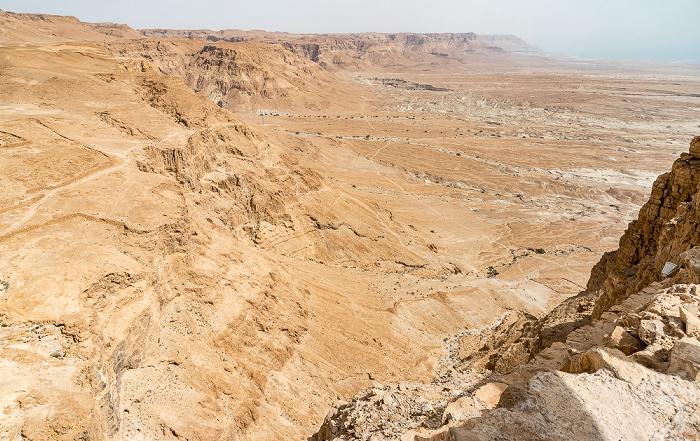Blick vom Masada-Tafelberg