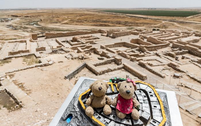 Tel Be'er Sheva Tel Beer Sheva Nationalpark: Teddy und Teddine
