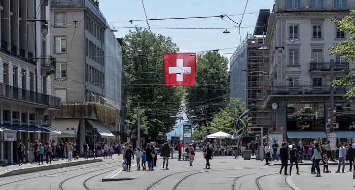 Bahnhofstrasse / Paradeplatz Zürich