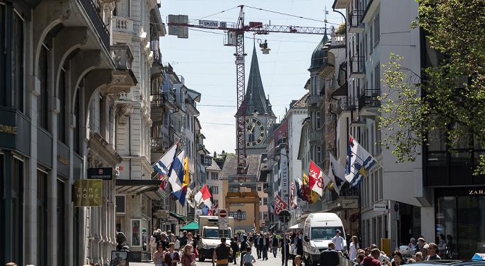 Altstadt: Rennweg Zürich
