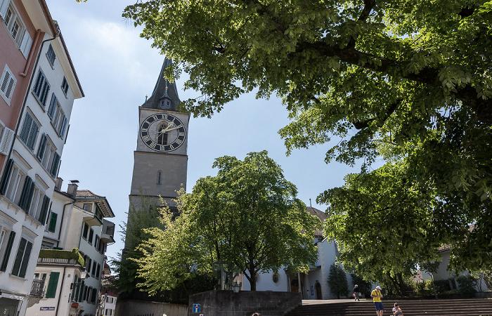 Altstadt: St. Peterhofstatt - St. Peter Zürich