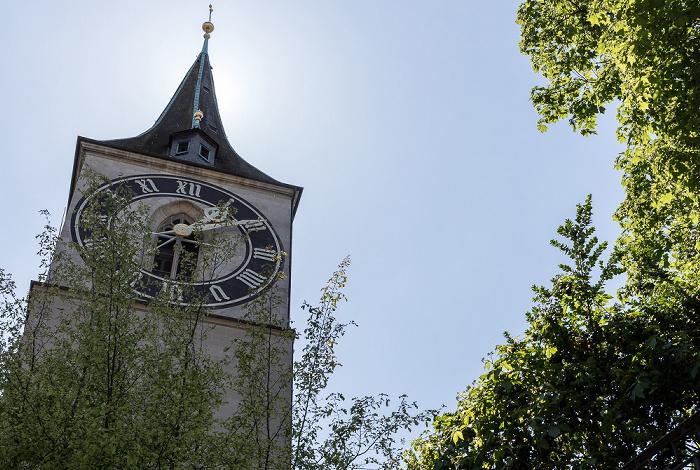 Altstadt: St. Peter Zürich