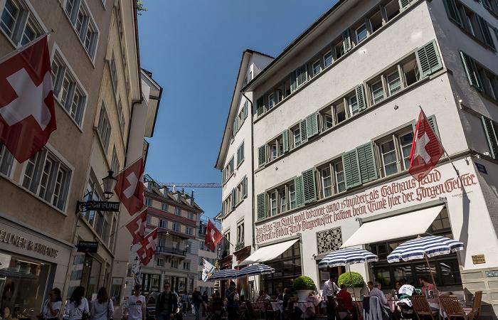 Altstadt: Strehlgasse Zürich