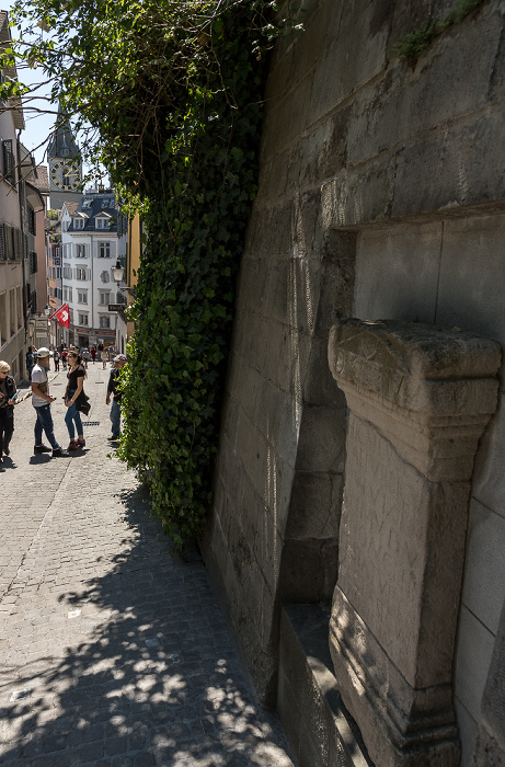 Altstadt: Pfalzgasse Zürich