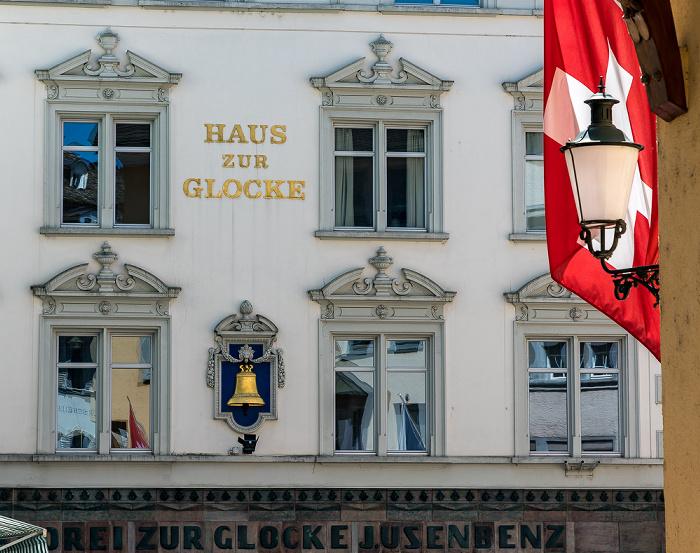 Altstadt: Glockengasse - Haus zur Glocke Zürich