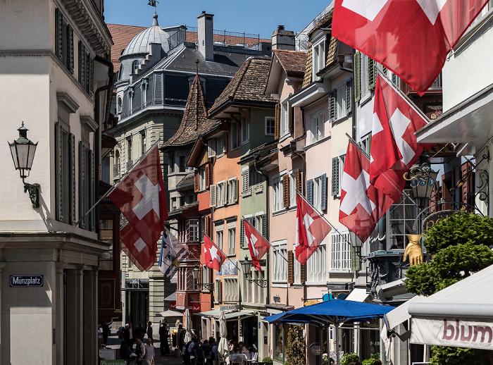 Altstadt: Augustinergasse Zürich