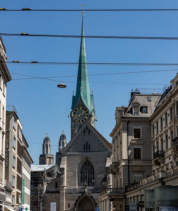 Altstadt: Fraumünster Zürich