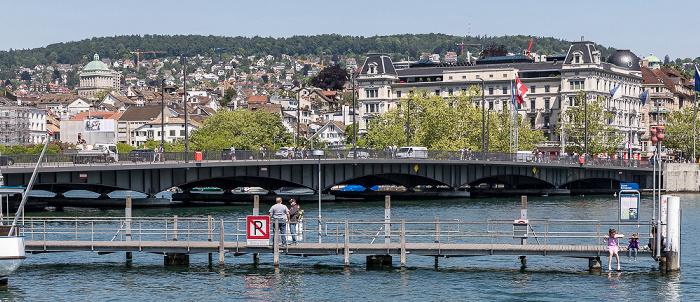 Zürichsee, Quaibrücke Zürich