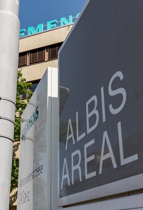 Albisriederstrasse: Siemens Schweiz AG Zürich
