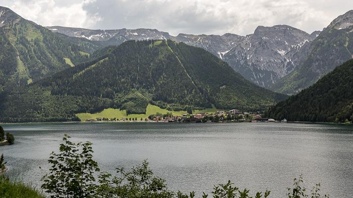 Achensee Karwendel mit dem Zwölferkopf