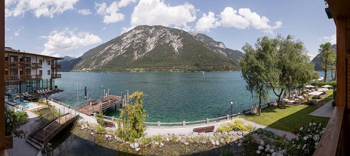 Pertisau Blick aus dem Travel Charme Fürstenhaus Am Achensee: Achensee
