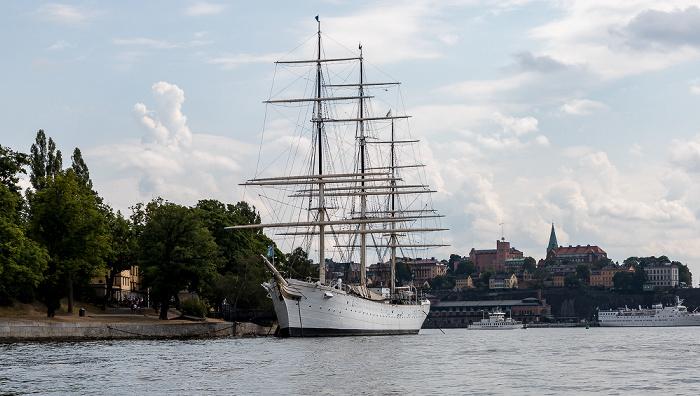 Stockholm Strömmen, Skeppsholmen, Segelschiff Af Chapman Segelschiff Af Chapman Södermalm