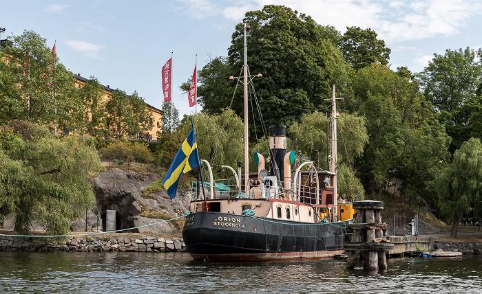 Stockholm Skeppsholmen, SS Orion