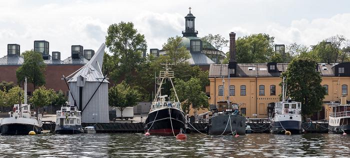 Stockholm Skeppsholmen: Torpeddepartementet Moderna Museet Skeppsholmskyrkan