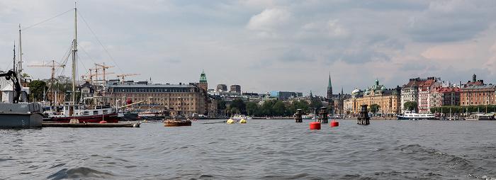 Stockholm Ladugardslandsviken Blasieholmen Norrmalm Östermalm Strandvägen