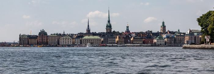 Stockholm Saltsjön, Altstadt Gamla stan