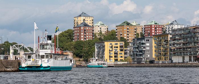 Stockholm Hammarby sjö, Södra Hammarbyhamnen Danviksklippan