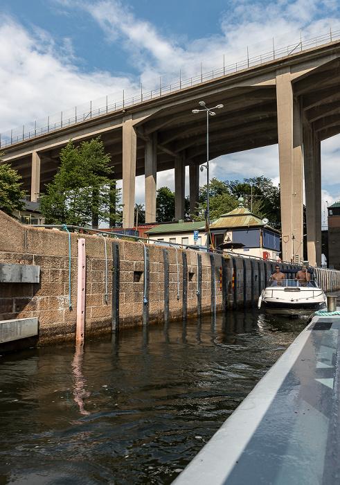 Stockholm Hammarbyleden: Hammarbyslussen, Skanstullsbron