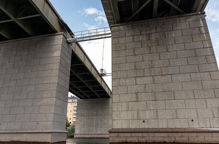Stockholm Årstaviken (Mälaren): Liljeholmsbron