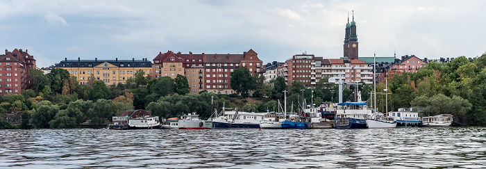 Stockholm Riddarfjärden (Mälaren), Södermalm mit Högalidskyrkan