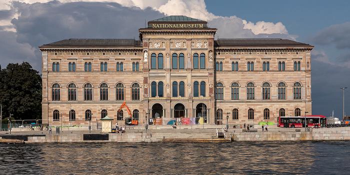 Norrmalm: Blasieholmen - Schwedisches Nationalmuseum Stockholm 2018