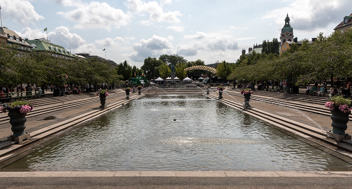 Stockholm Norrmalm: Kungsträdgården