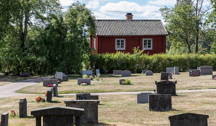 Friedhof an der Karbennings kyrka