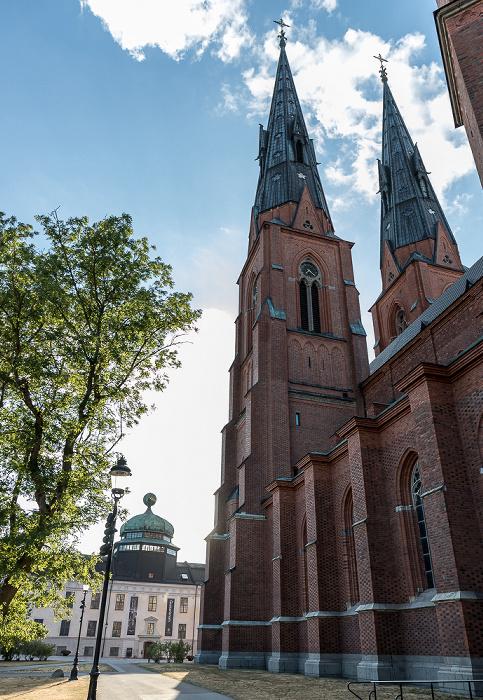 Domkyrkoplan: Dom St. Erik (Uppsala domkyrka) Gustavianum