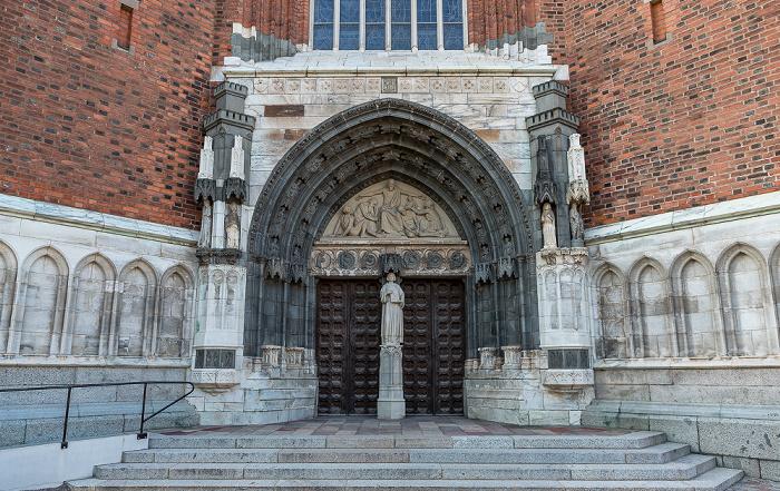 Dom St. Erik (Uppsala domkyrka): Hauptportal