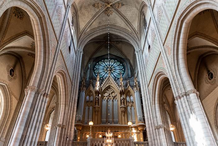 Dom St. Erik (Uppsala domkyrka): Mittelschiff