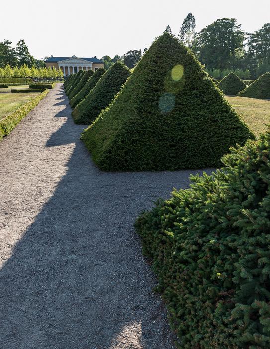 Uppsala Botanischer Garten Orangerie Linneanum