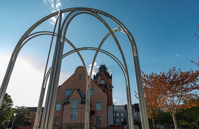 Universität Uppsala: Campus Engelska Parken Gamla Fysicum