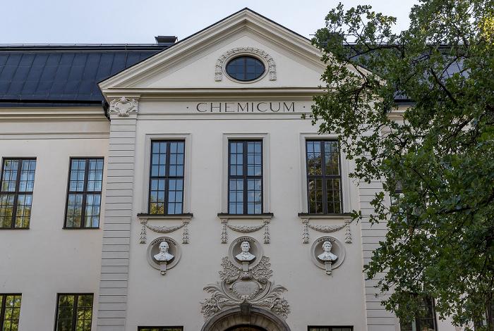 Universität Uppsala: Campus Engelska Parken - Gamla Kemicum