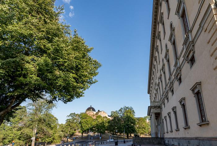 Universität Uppsala: Carolina Rediviva Schloss Uppsala