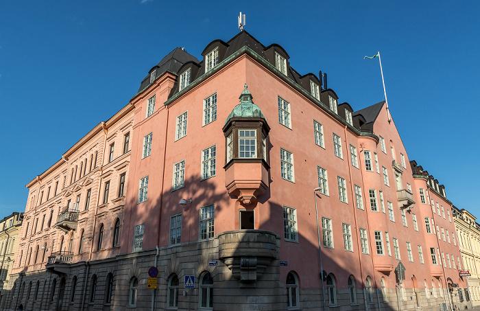 Uppsala Drottninggatan / Nedre Slottsgatan: Hantverksföreningens hus
