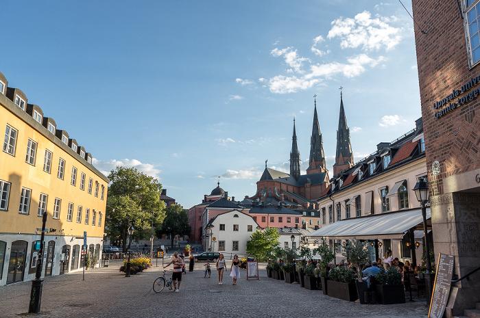 Uppsala Gamla torget Dom St. Erik